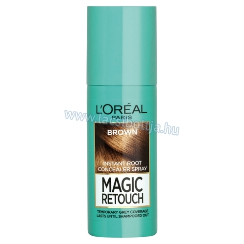 L'Oréal Paris Magic Retouch Barna azonnali hajtőszínező spray 75 ml
