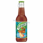 Top Joy 0,25 l üveges Ice Tea őszibarackos