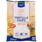 Metro Chef tortilla chips 750 g hot - csípős