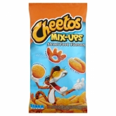 Cheetos Mix-Ups pizzás, hot dog, hamburger ízesítésű kukoricasnack mix 70 g