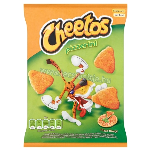 Cheetos chips 43 g pizza