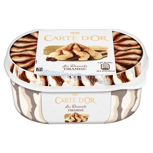 Carte D'or jégkrém Tiramisu 900 ml