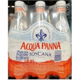 Acqua Panna mentes ásványvíz 6 x 500 ml pet (425 Ft/db)