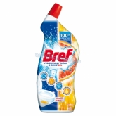 Bref Hygienically Clean & Shine Orange Burst WC tisztító 700 ml
