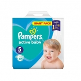 Pampers active baby pelenka Giant pack 5 junior 11-16 kg (64 db)
