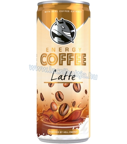 Hell Energy Coffee latte 250 ml