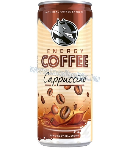 Hell Energy Coffee Cappuccino 250 ml