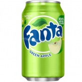 Fanta dobozos zöldalma 355 ml green apple