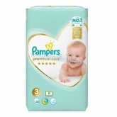 Pampers premium care pelenka 3-as Midi 60 db
