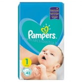 Pampers New Baby-dry 1 newborn pelenka 2-5 kg (43 db-os)