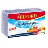 Milford tea alma-fahéj (Winter Delight) 20 x 2,5 g