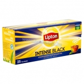 Lipton Intense Black fekete tea 25 filter 57,5 g