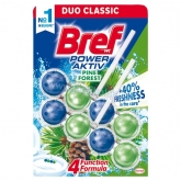 Bref Power Aktiv Pine Forest WC-frissítő 2 x 50 g