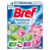 Bref Perfume Switch Floral Apple-Water Lily WC-frissítő 50 g