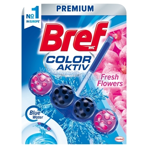 Bref Color Aktiv Fresh Flowers WC-frissítő 50 g