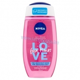 NIVEA Love Fun Times Pink Grapefruit tusfürdő 250 ml