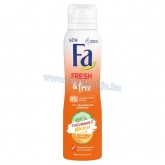 Fa Fresh & Free Uborka & Sárgadinnye deospray 150 ml