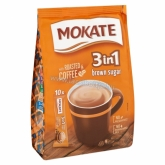 Mokate 3 in 1 Gold Brown Sugar instant kávé barna cukorral 10 x 17 g