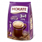 Mokate 3 in 1 Strong instant kávé 10 x 17 g