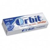 Orbit drazsé rágó white fresh mint 14 g
