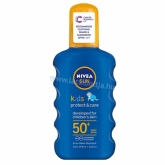 NIVEA SUN Kids Sensitive Protect & Care napozó spray FF50 200 ml
