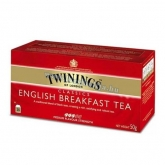Twinings tea 25 filter english breakfast 50 g