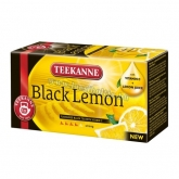 Teekanne Black Lemon tea (citromos) 33 g