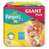 Pampers active baby pelenka Giant pack 2 mini 3-6 kg (100 db)