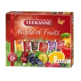 Teekanne tea válogatás 6 x 5 db-os World of Fruits 73,75 g
