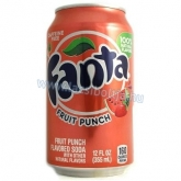 Fanta dobozos dinnye-eper 355 ml fruit punch