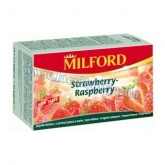 Milford tea eper-málna (Strawberry-Raspberry) 20 x 2,5 g